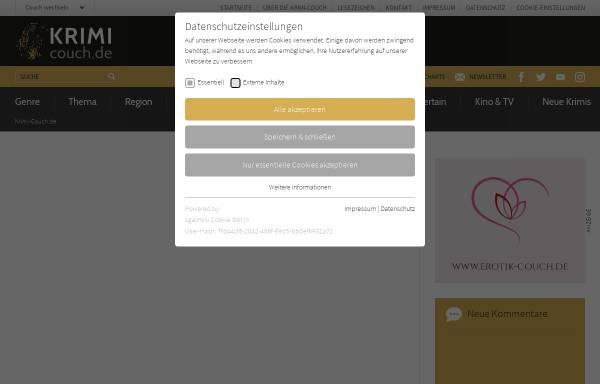 Vorschau von www.krimi-couch.de, Ian Rankin: Das zweite Zeichen