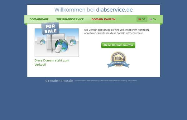 Vorschau von www.diabservice.de, DiabService GmbH
