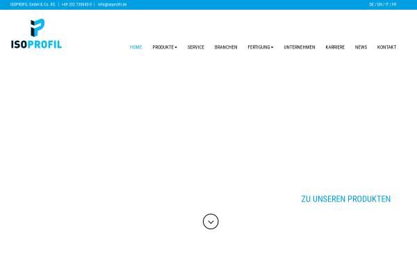 Vorschau von www.isoprofil.de, IsoProfil GmbH & Co.