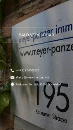 Vorschau der mobilen Webseite www.meyer-panzer.com, Meyer-Panzer