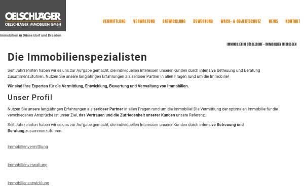 Vorschau von www.oelschlaeger.immo, Oelschlaeger Immobilien GmbH
