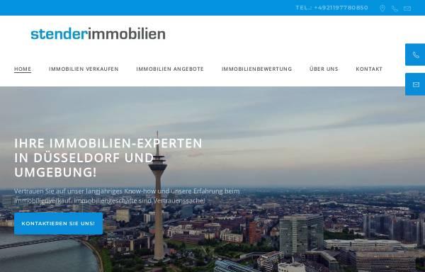 Vorschau von www.stender-immobilien.de, Stender Immobilien