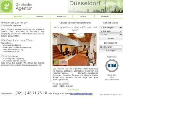 Vorschau von zweitwohnagentur.de, Zweitwohnagentur Düsseldorf