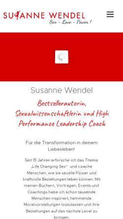 Vorschau der mobilen Webseite www.foodtrainer.de, Foodtrainer - einfach besser essen