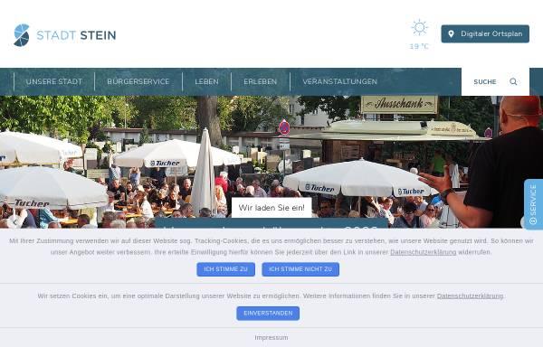 Vorschau von www.stadt-stein.de, Stein