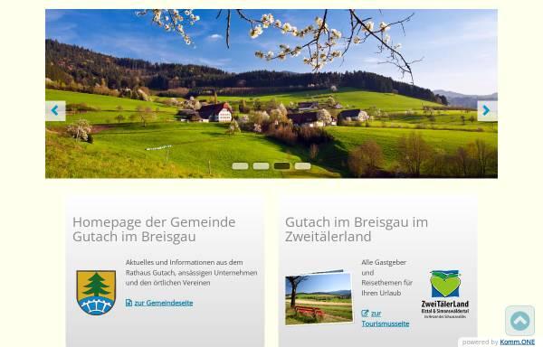 Vorschau von www.gutach.de, Gemeinde Gutach im Breisgau
