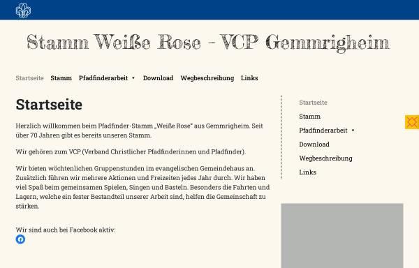 Vorschau von www.vcp-gemmrigheim.de, Verband Christlicher Pfadfinderinnen und Pfadfinder - Stamm