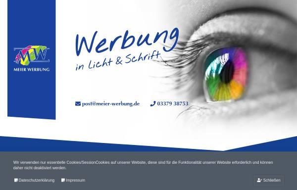 Vorschau von www.meier-werbung.de, Meier Werbung