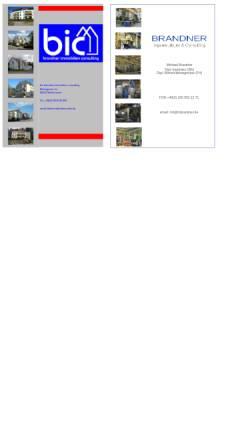 Vorschau der mobilen Webseite brandner-immobilien.de, Brandner Immobilien Consulting
