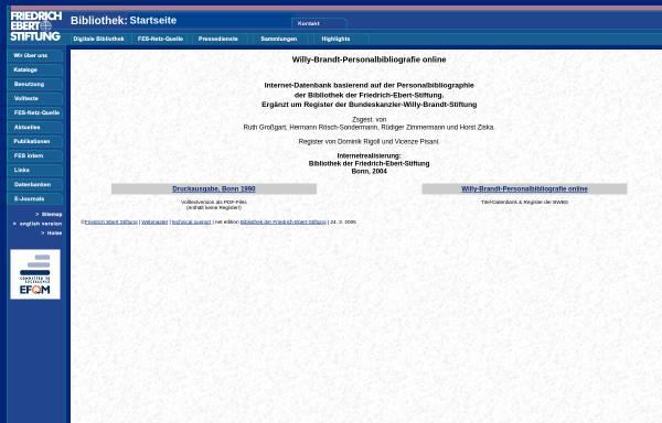 Vorschau von library.fes.de, Willy-Brandt-Personalbibliografie