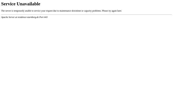 Vorschau von www.residence-starnberg.de, Residence Starnberger See Seminar-, Tagungs- & Wellness-Resort Hotel