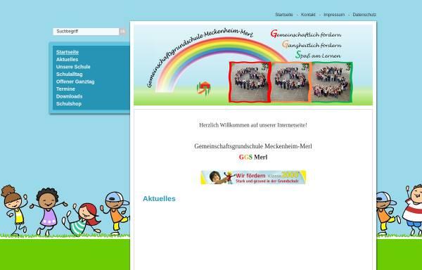 Vorschau von www.ggs-merl.de, Gemeinschaftsgrundschule Meckenheim - OT Merl