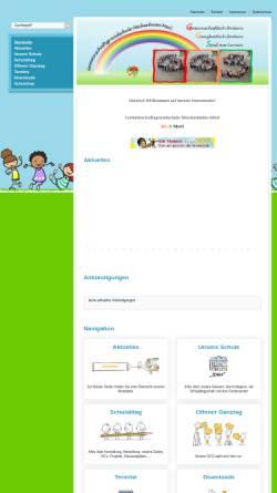 Vorschau der mobilen Webseite www.ggs-merl.de, Gemeinschaftsgrundschule Meckenheim - OT Merl