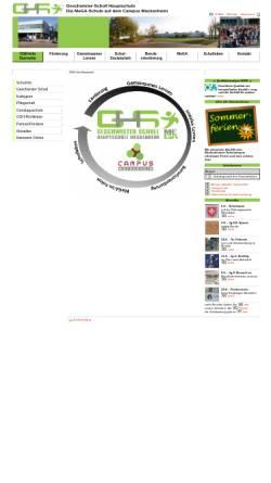 Vorschau der mobilen Webseite www.hsmeckenheim.de, Geschwister-Scholl-Schule Meckenheim