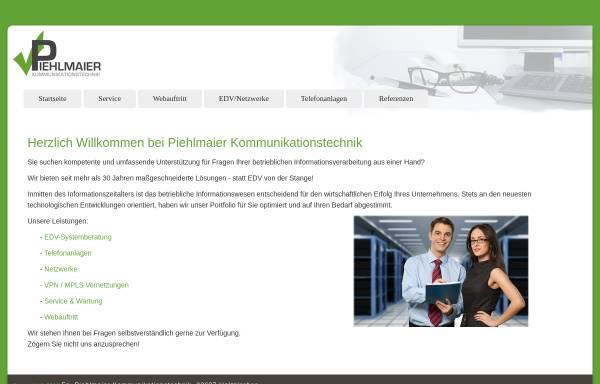 Vorschau von www.piehlmaier.de, Firma Piehlmaier