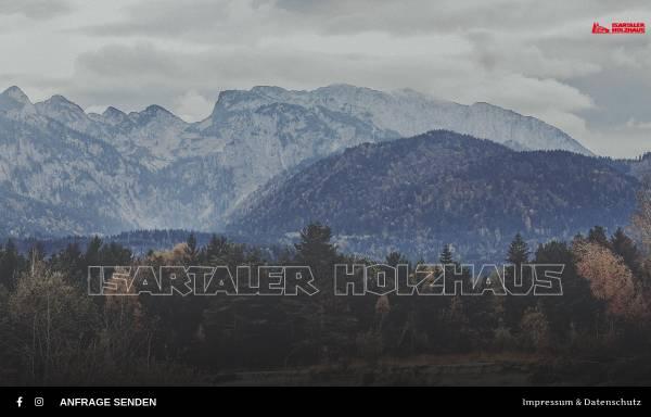Vorschau von www.isartaler-holzhaus.de, Isartaler Holzhaus
