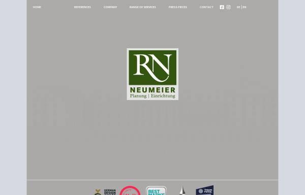 Vorschau von www.neumeier-haus.de, Rudolf Neumeier GmbH & Co KG