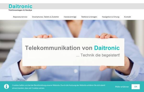 Vorschau von www.daitronic.de, Daitronic GmbH Telekommunikationszentrum