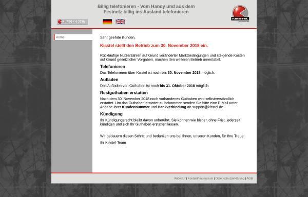 Vorschau von www.kisstel.de, Flexsys Computer Systems GmbH