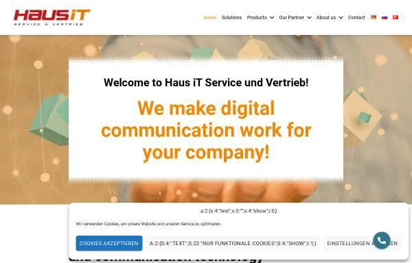 Vorschau von www.haus-it.de, Haus IT Service & Vertrieb, Inh. Mentor Consulting Limited & Co. KG