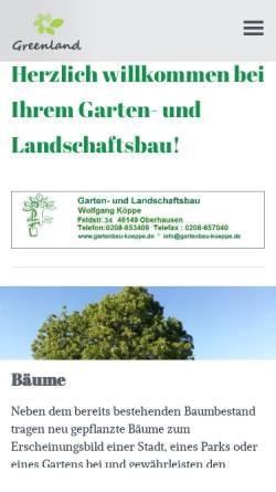 Gartenbau Und Gartenpflege Wolfgang Koppe Wirtschaft Oberhausen