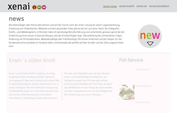 Vorschau von www.xenai.de, Xenai - der andere Blick
