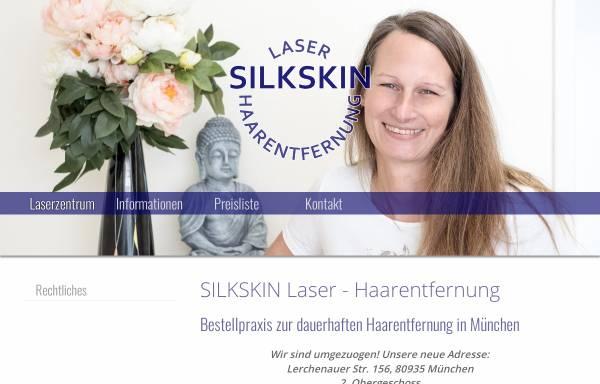 Vorschau von www.silkskin.de, Silk Skin Kosmetikzentrum