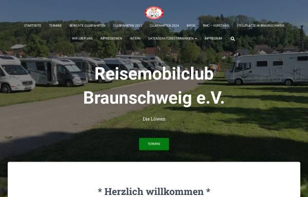Vorschau von www.rmc-braunschweig.de, Reisemobilclub Braunschweig