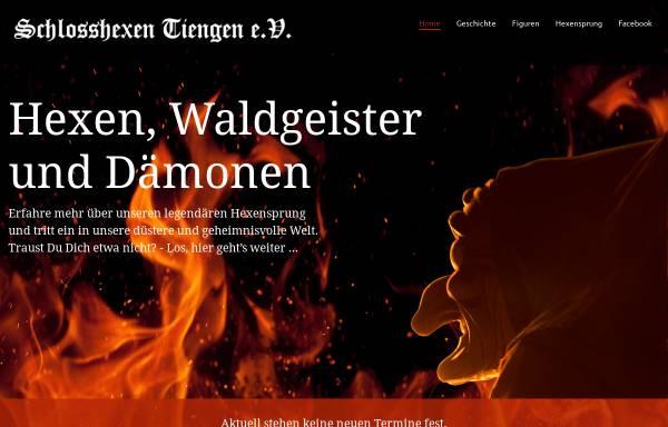Vorschau von www.schlosshexen.org, Narrenverein Schlosshexen Tiengen e.V.