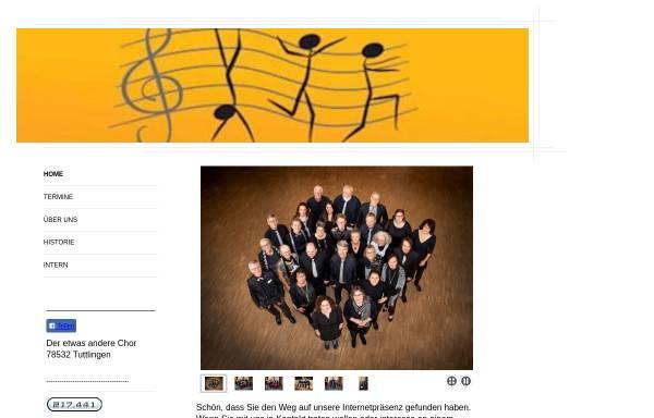 Vorschau von www.der-etwas-andere-chor.de, Der etwas andere Chor