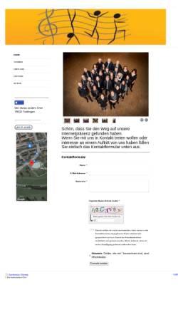 Vorschau der mobilen Webseite www.der-etwas-andere-chor.de, Der etwas andere Chor