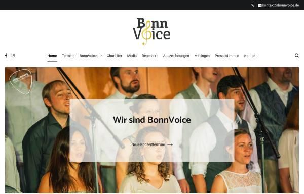 Vorschau von bonnvoice.de, Jazzchor BonnVoice