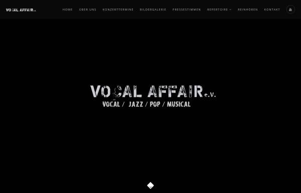 Vorschau von www.vocal-affair.de, Vocal-Affair