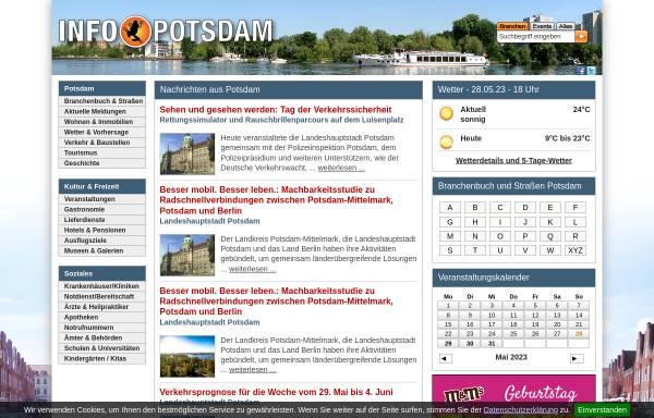 Vorschau von www.info-potsdam.de, Info-Potsdam