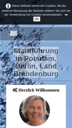 Vorschau der mobilen Webseite www.potsdam-plus.de, Potsdam-Plus