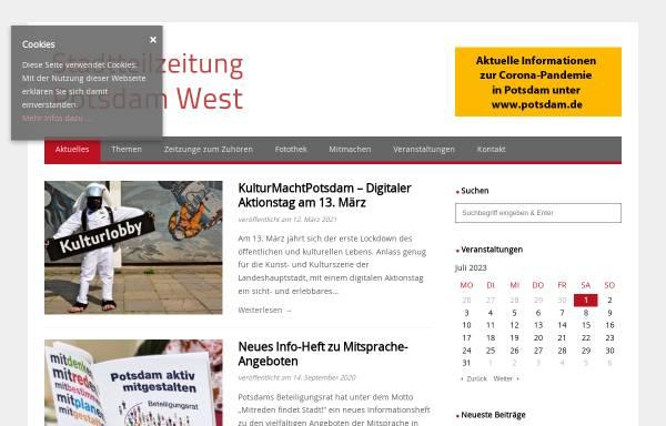 Vorschau von www.potsdam-west.de, Call a Pizza Potsdam West