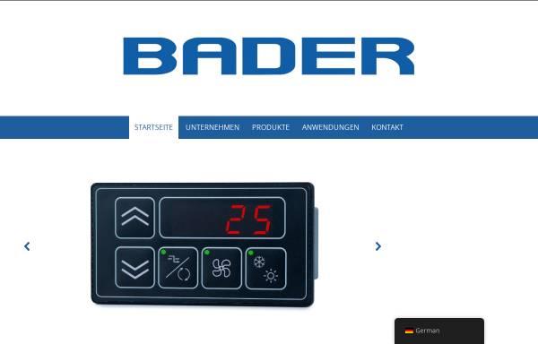 Vorschau von www.badergmbh.de, Bader GmbH