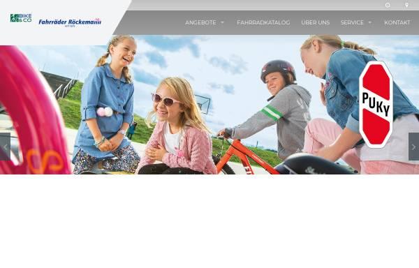 Vorschau von www.roeckemann.de, Fahrräder Röckemann
