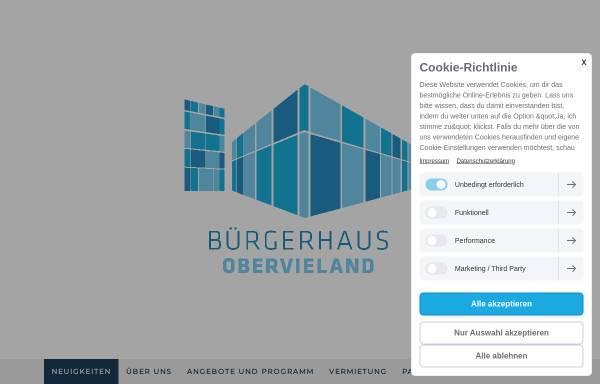 Vorschau von www.bgo-bremen.de, Bürgerhaus Obervieland
