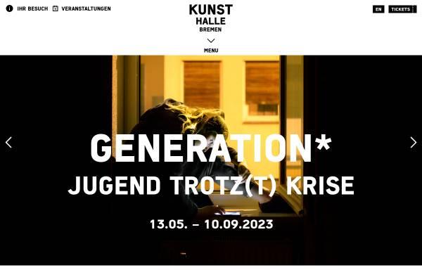 Vorschau von www.kunsthalle-bremen.de, Kunsthalle Bremen