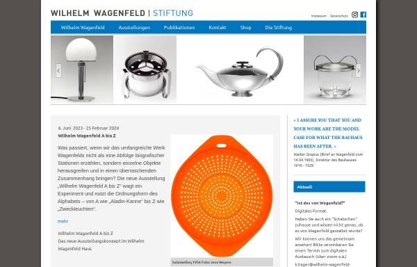 Vorschau von www.wilhelm-wagenfeld-stiftung.de, Wilhelm Wagenfeld Haus Bremen