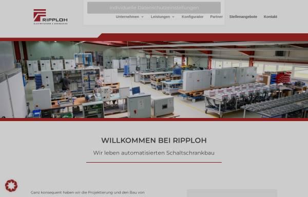 Vorschau von www.ripploh.de, Ripploh Elektrotechnik GmbH