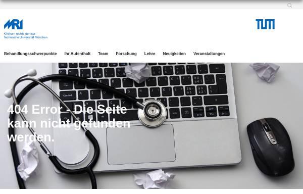 Vorschau von www.neuro.med.tu-muenchen.de, Deutscher Forschungsverbund Neuropathischer Schmerz (DFNS)