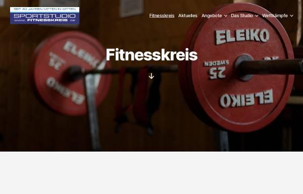 Vorschau von www.fitnesskreis.de, Fitnesskreis Stebner