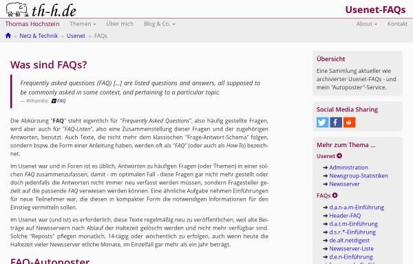 Vorschau von www.th-h.de, [de.admin.net-abuse.mail] FAQ-Sammlung