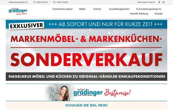Vorschau von www.moebel-gradinger.de, Möbel Gradinger