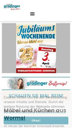 Möbel Gradinger In Worms Wirtschaft Worms Moebel Gradingerde