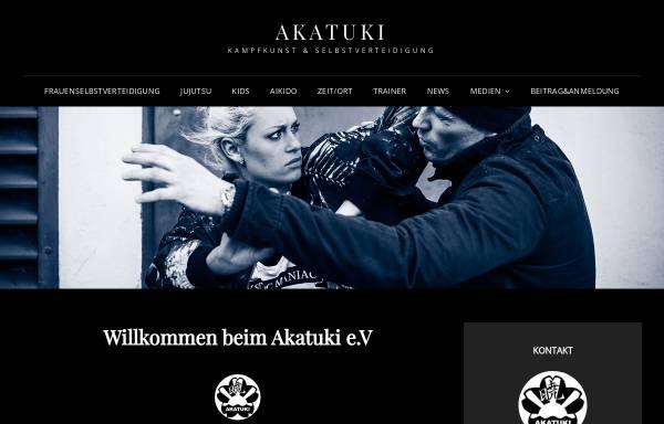 Vorschau von www.akatuki.de, AKATUKI e.V. Kiel - Karate, Aikido, Ju-Jutsu