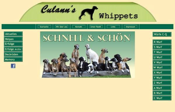 Vorschau von www.culanns-whippets.de, Culann's