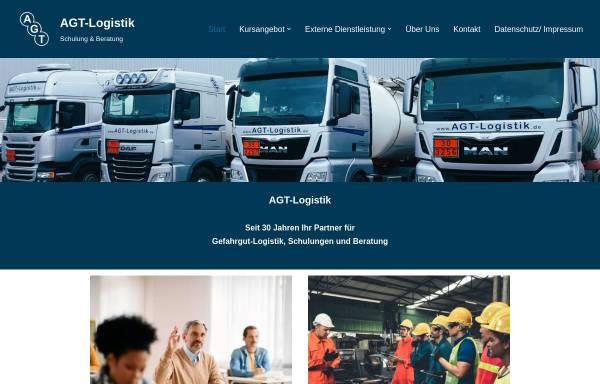 Vorschau von www.agt-logistik.de, AGT-Logistik, Thomas Papenbrock